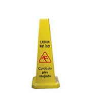 "Thunder Group PLWFC027 - 27"" Cone Wet Floor Sign"