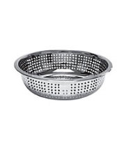 Thunder Group SLCIL15L - Stainless Steel Chinese Colander 15""