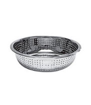 Thunder Group SLCIL15S - Stainless Steel Chinese Colander 15""