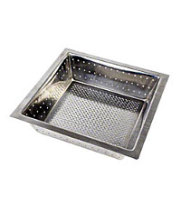 "Thunder Group SLFDS385 - Stainless Steel Floor Drain Strainers 8 1/2"" x 8 1/2"" (Pack of 12)"