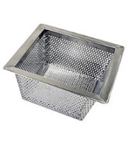 "Thunder Group SLFDS510 - Stainless Steel Floor Drain Strainers 10"" x 10"" (Pack of 6)"