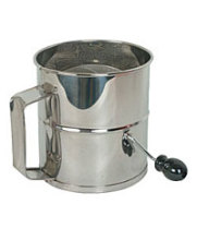Thunder Group SLFS008 - Stainless Steel Flour Sifter - 8 Cup
