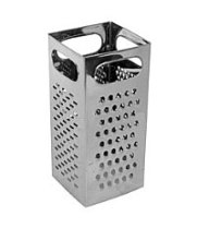 Thunder Group SLGR004 - Stainless Steel Grater 4""