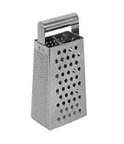 Thunder Group SLGR025 - Stainless Steel Grater with Handle 9.5""