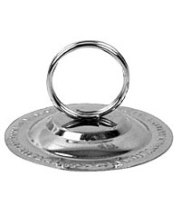 "Thunder Group SLTWMH004 - Stainless Steel Ring Menu Holder 1 5/8"" (72 per Case)"