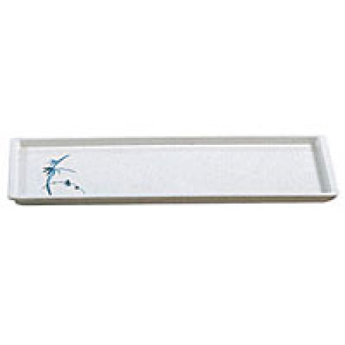 Thunder Group Sandwich Tray - Blue Bamboo Collection 13-1/2
