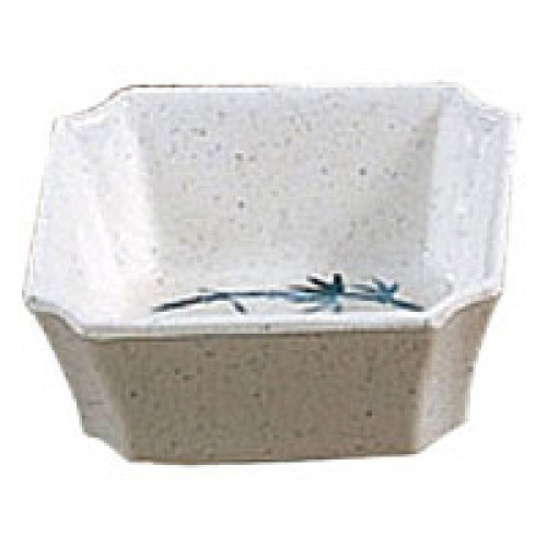 Thunder Group Square Small Bowl - Blue Bamboo Collection 4 oz. (12 per Case) [1002BB]