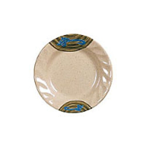 Thunder Group Curved Rim Round Plate - Wei Collection 7