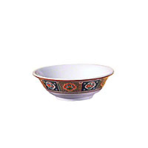 Thunder Group Rimless Bowl - Peacock Collection 25 oz (12 per Case) [5065TP]