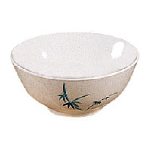 Thunder Group Noodle Bowl - Blue Bamboo Collection 45 oz (12 per Case) [5208BB]