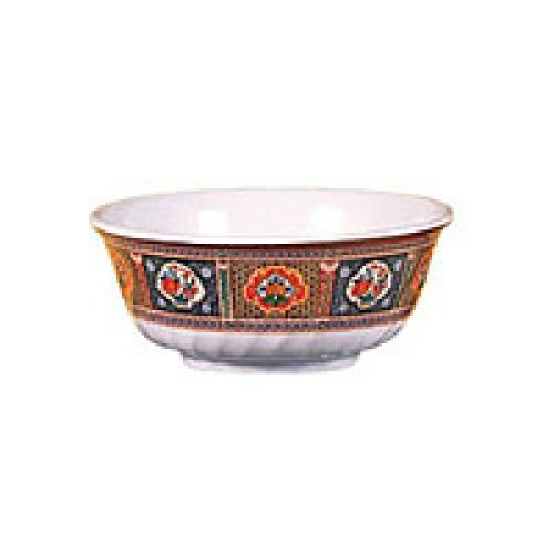 Thunder Group Swirl Bowl - Peacock Collection 27 oz (12 per Case) [5307TP]