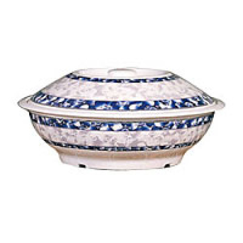 Thunder Group Serving Bowl with Lid  - Blue Dragon Collection 37 oz [8011DL]