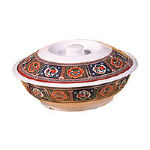 Thunder Group Serving Bowl with Lid  - Peacock Collection 37 oz [8011TP]