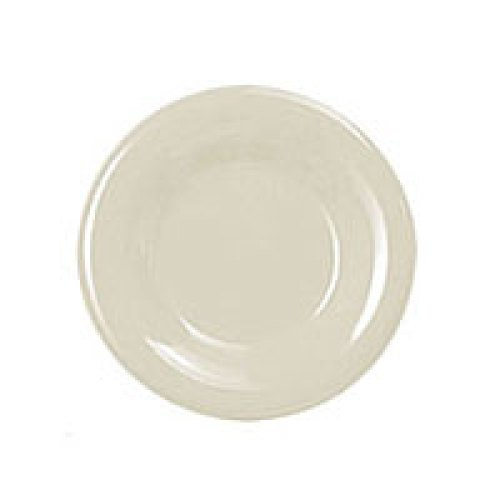 Thunder Group Round Wide Rim Round Plate - Ivory - 7-1/2