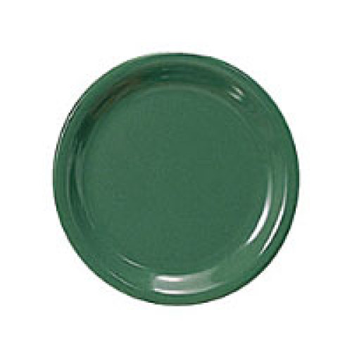 Thunder Group Narrow Rim Round Plate - Green - 7-1/4