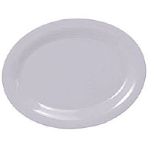 Thunder Group Oval Platter - White - 13-1/2
