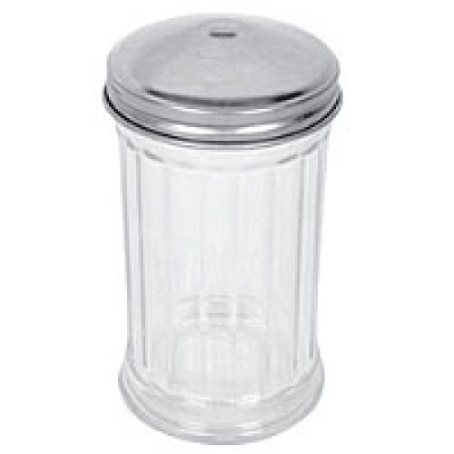 Thunder Group Glass Sugar Dispenser w/ Center Hole Top 12 oz (24 per Case) [GLTWSJ012H]
