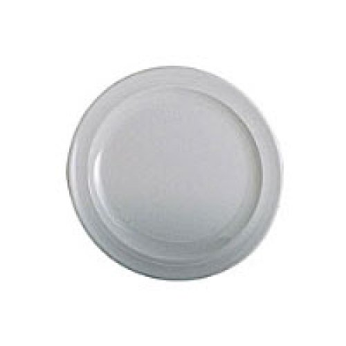 Thunder Group Nustone White Round Plate 7-1/4