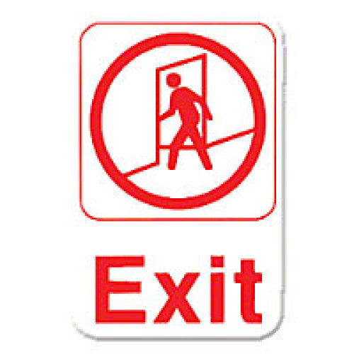 Thunder Group Exit Sign 9