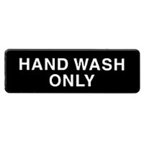 Thunder Group Hand Wash Only Sign 9