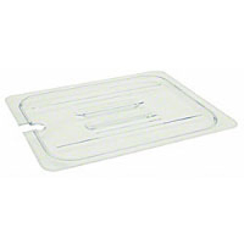 Thunder Group Full-Size Polycarbonate Slotted Food Pan Covers (12 per Case) [PLPA7000CS]