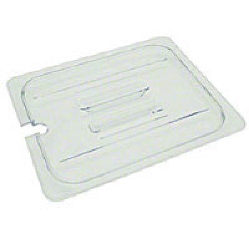 Thunder Group Half-Size Polycarbonate Slotted Food Pan Covers (12 per Case) [PLPA7120CS]
