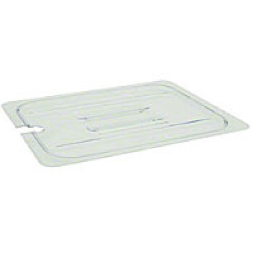 Thunder Group Third-Size Polycarbonate Slotted Food Pan Covers (12 per Case) [PLPA7130CS]