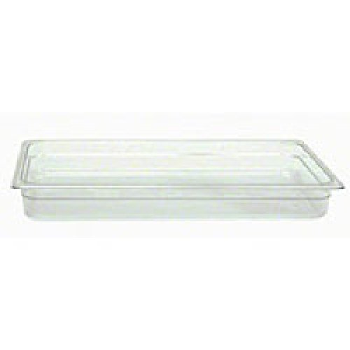 Thunder Group Full-Size Polycarbonate Solid Food Pans 2-1/2