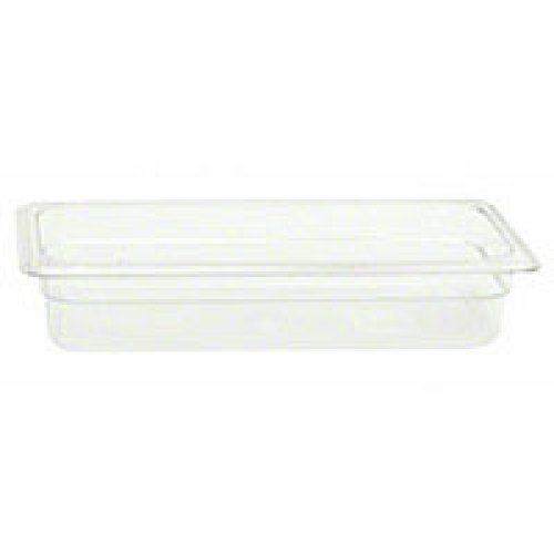Thunder Group Third-Size Polycarbonate Solid Food Pans 2-1/2