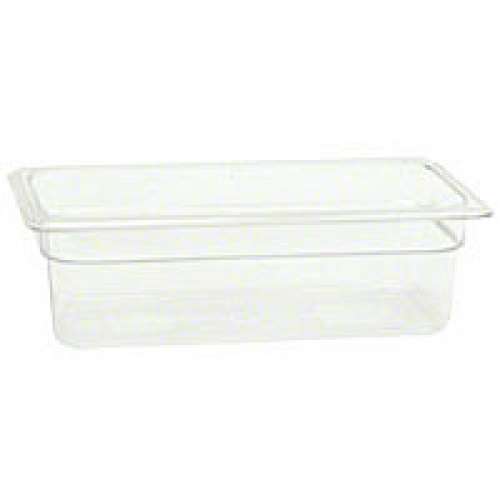 Thunder Group Third-Size Polycarbonate Solid Food Pans 4