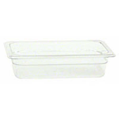Thunder Group Quarter-Size Polycarbonate Solid Food Pans 2-1/2