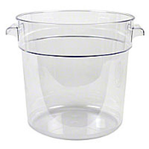 Thunder Group Polycarbonate Round Food Storage Container 18 Qt [PLRFT018PC]
