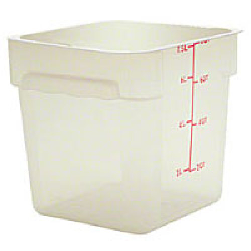 Thunder Group Polypropylene Food Storage Container 8 Qt (6 per Case) [PLSFT008PP]
