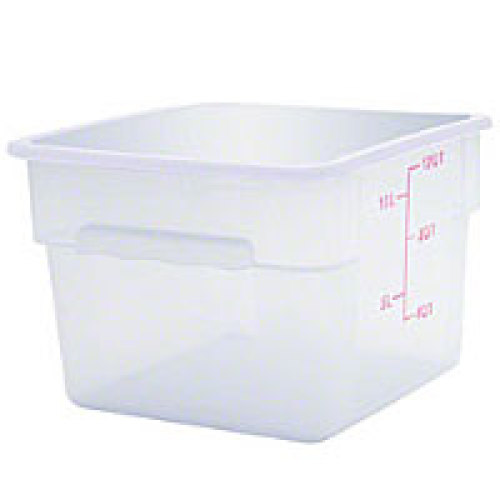 Thunder Group Polycarbonate Food Storage Container 12 Qt (6 per Case) [PLSFT012PC]