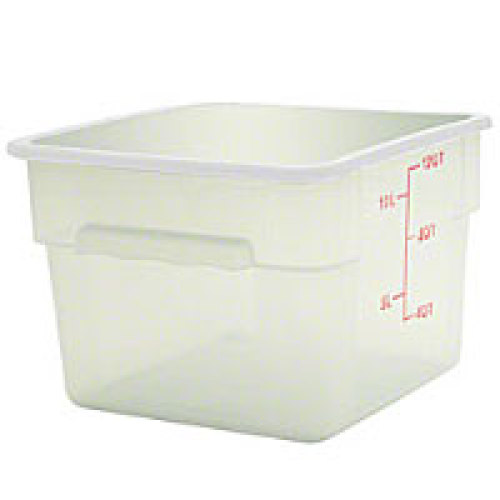 Thunder Group Polypropylene Food Storage Container 18 Qt (6 per Case) [PLSFT018PP]