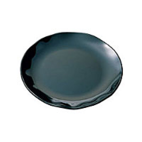 Thunder Group Black Pearl Two Tone Round Platter 16
