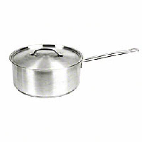 Thunder Group Stainless Steel Sauce Pan 4-1/2 Qt. [SLSSP045]