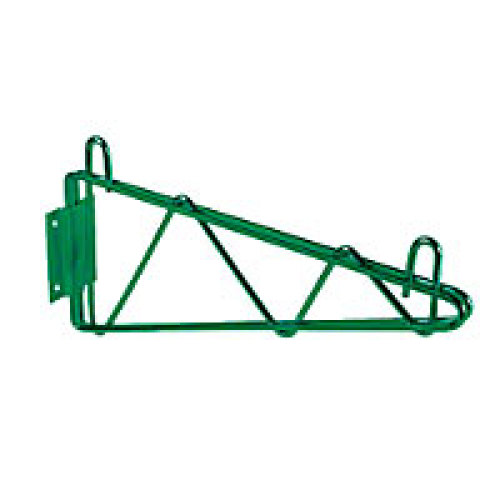 Thunder Group Green Epoxy Single Wall Shelf Mounting Bracket 18