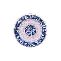 Thunder Group Round Plate - Blue Dragon Collection 9-1/8