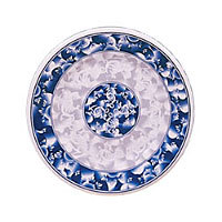 Thunder Group Round Plate - Blue Dragon Collection 12-5/8