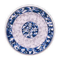 Thunder Group Round Plate - Blue Dragon Collection 14-1/8