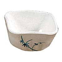 Thunder Group Vegetable Dish - Blue Bamboo Collection 3-3/8