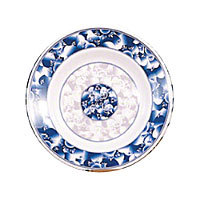Thunder Group Soup Plate - Blue Dragon Collection 7-7/8