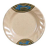 Thunder Group Curved Rim Round Plate - Wei Collection 10 1/2