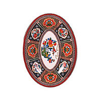Thunder Group Oval Platter - Peacock Collection 12