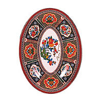 Thunder Group Oval Platter - Peacock Collection 16