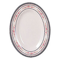 Thunder Group Oval Platter - Rose Collection 16