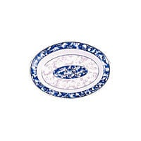 Thunder Group Deep Oval Platter - Blue Dragon Collection 9
