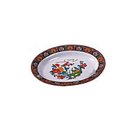 Thunder Group Deep Oval Platter - Peacock Collection 9