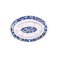 Thunder Group Deep Oval Platter - Blue Dragon Collection 10